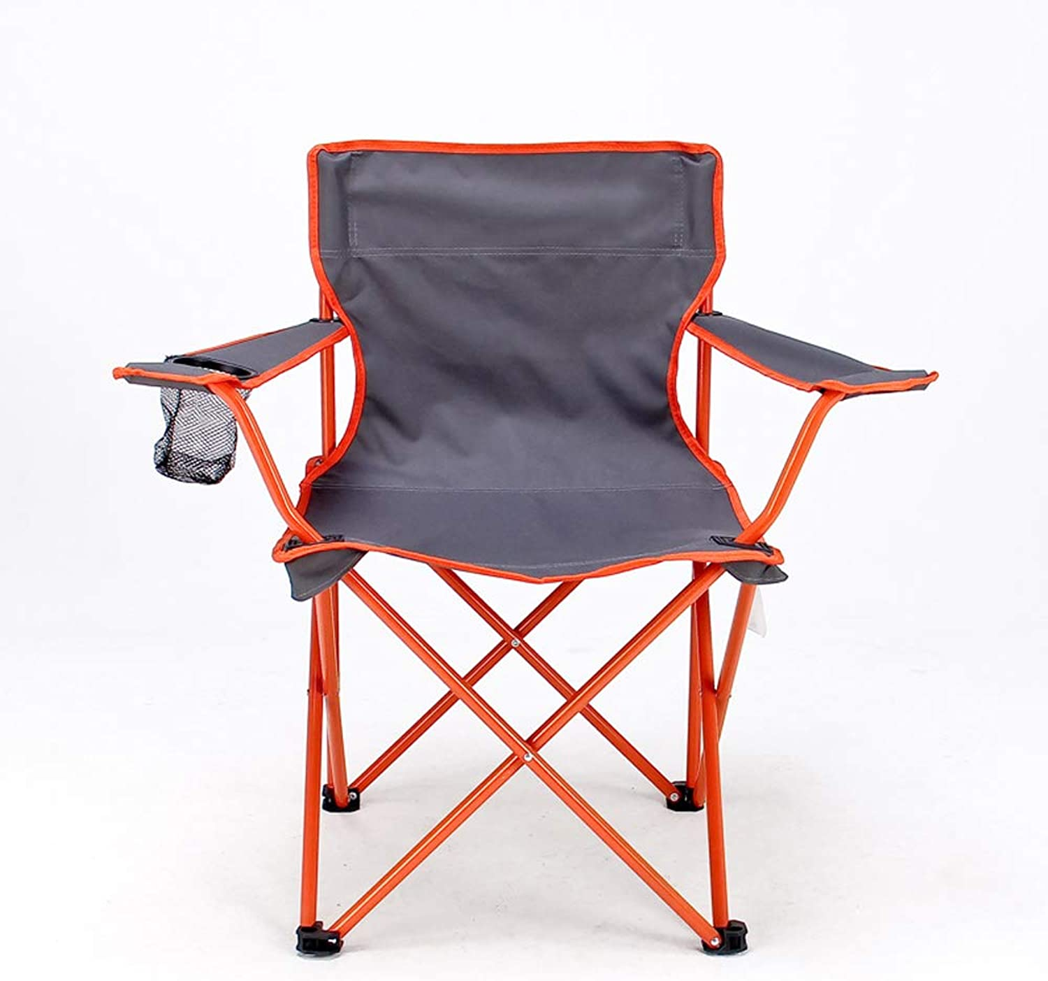 Mountaineering Leisure Camp Quad Chair with Cup Holder,orange