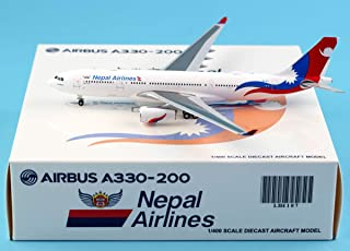JC Wings 1:400 LH4107 Nepal Airlines 飛行機 エアバス Airbus A330-200 ダイキャスト航空機モデル Reg%9N-ALY