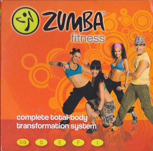 Zumba Fitness Total Body Transformation System 3 DVD Set