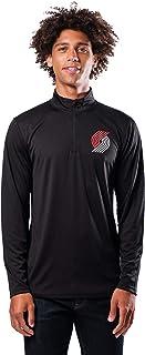 Ultra Game Men's Quarter Zip Pullover Long Sleeve Tee X-Large