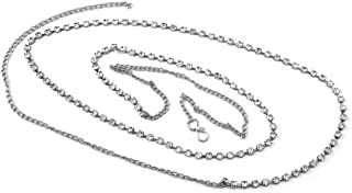 PCM Sterling Silver Waist Chain for Women