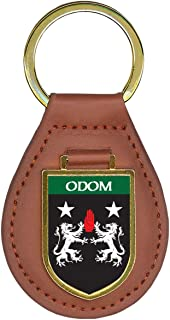 Odom Family Crest Coat of Arms Key Chains