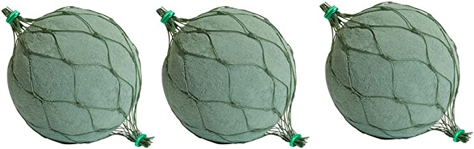 Oasis 3-inch Netted Floral Foam Sphere - (3) Pack