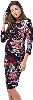 Ripe Maternity Women's Blossom Cross Your Heart Dress 3/4 Sleeve