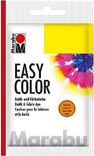Marabu 17350022023 Easy Color Peinture pour Teinture à la Main en Coton et Lin Lavable à la Main jusqu'à 30 °C Très Bonne ...