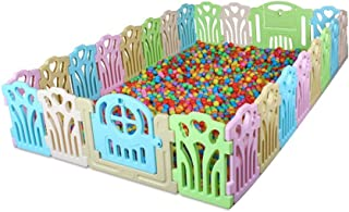 Xuan Yuan Safety Fence,Guardrail Learning Walking Fence Playpens Crawling Fence Indoor Toys Environmental Protection Baby Play Fence (Size : 2.29 * 2.66m)