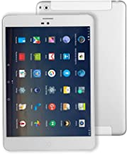 7.85 Pulgadas Tablet PC Android 4G-LTE - Winnovo M798 WiFi GPS Phablet Quad Core 16 GB ROM 1GB RAM Tarjeta SIM Ranuras Bluetooth Cámara Doble Metal Plateado