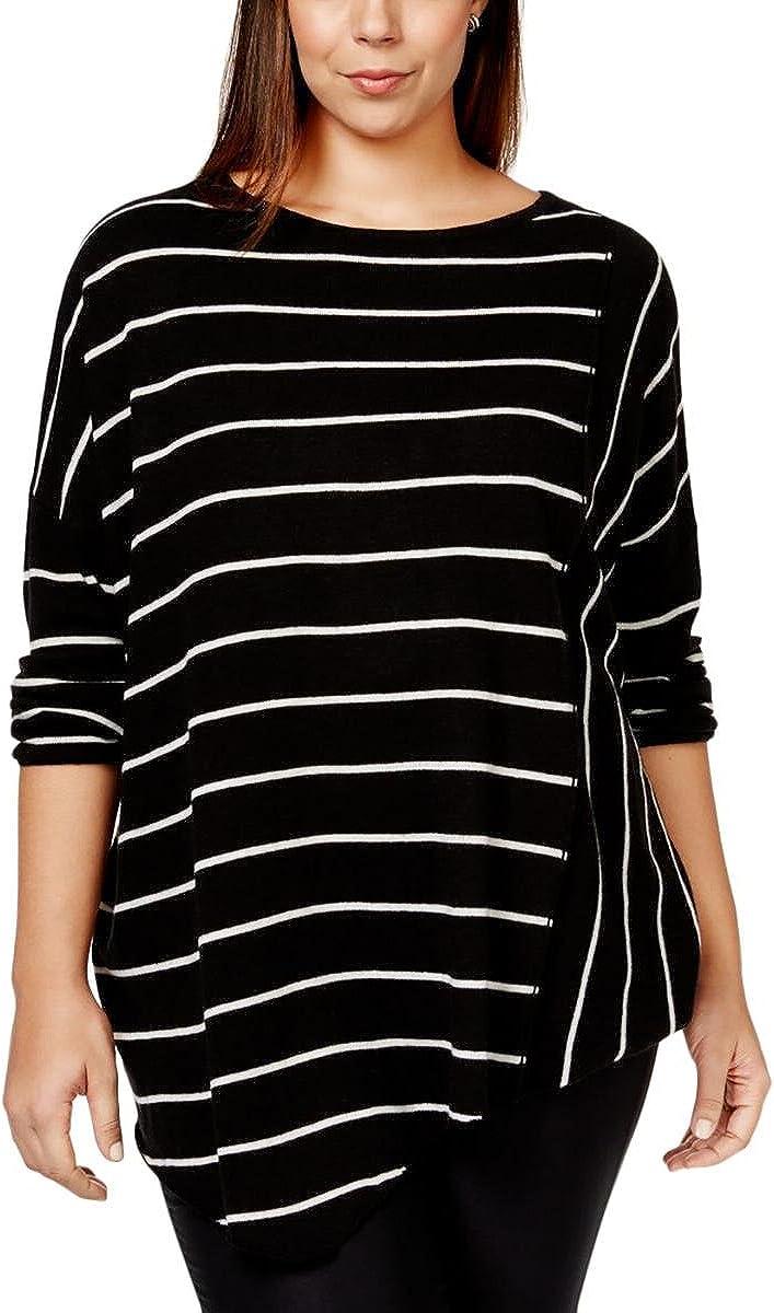 INC International Outlet sale feature Concepts Women's Asymmetrica Size Max 71% OFF Plus Striped