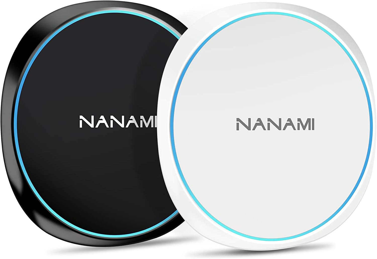 NANAMI Fast Wireless Charger Qi-Certified 10W Charging NEW before Credence selling ☆