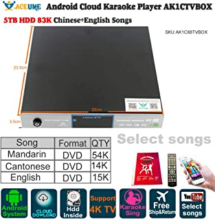 Amazon com: karaoke tv system - ACEUME / Players / Karaoke Equipment