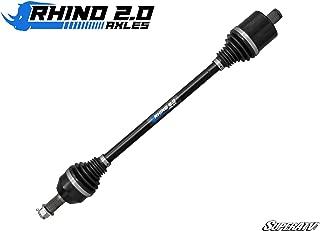 SuperATV Heavy Duty Rhino 2.0 Stock Length Axle for Polaris Ranger XP 900 (2013+) - FRONT - 2X Stronger Than Stock!