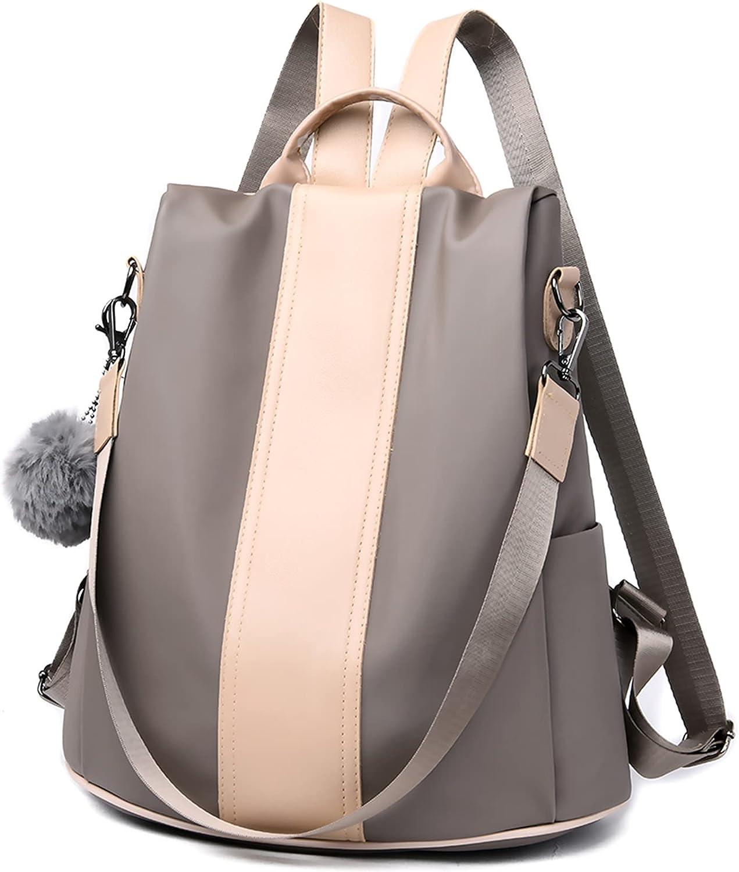 Rahada Women Fashion Backpack Purse Anti-theft Design Shoulder Bag and Satchel Handbags PU LeatherTravel Rucksack