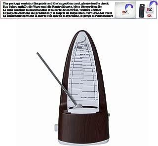 Guitar Metronome Online Mechanical Pendulum Mecanico Wood color for Guitar Piano Violin Musical Instrument,ME01
