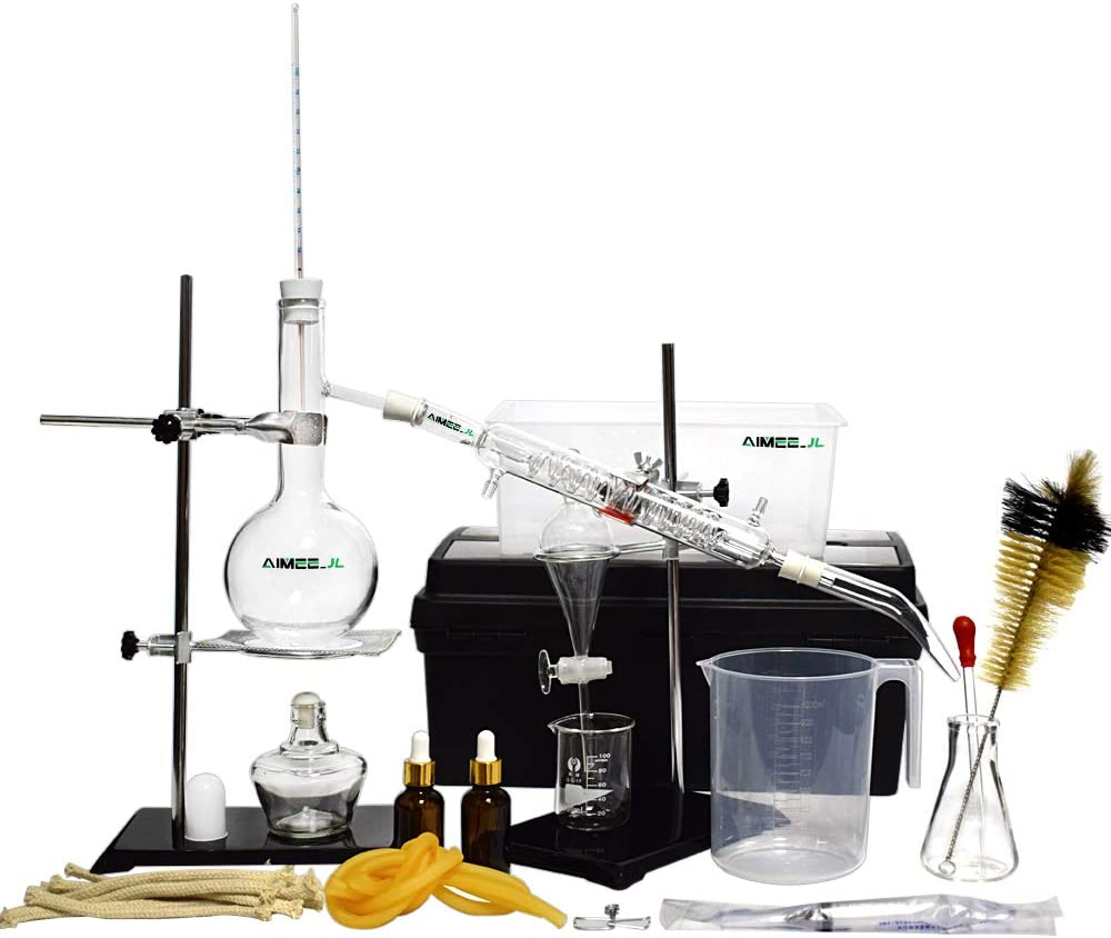 New wholesale Distillation Device Set quality assurance Pure Distiller Water Home E Hydrosol