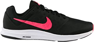 Nike Womens WMNS Downshifter 7 Black Racer Pink White Size 11.5