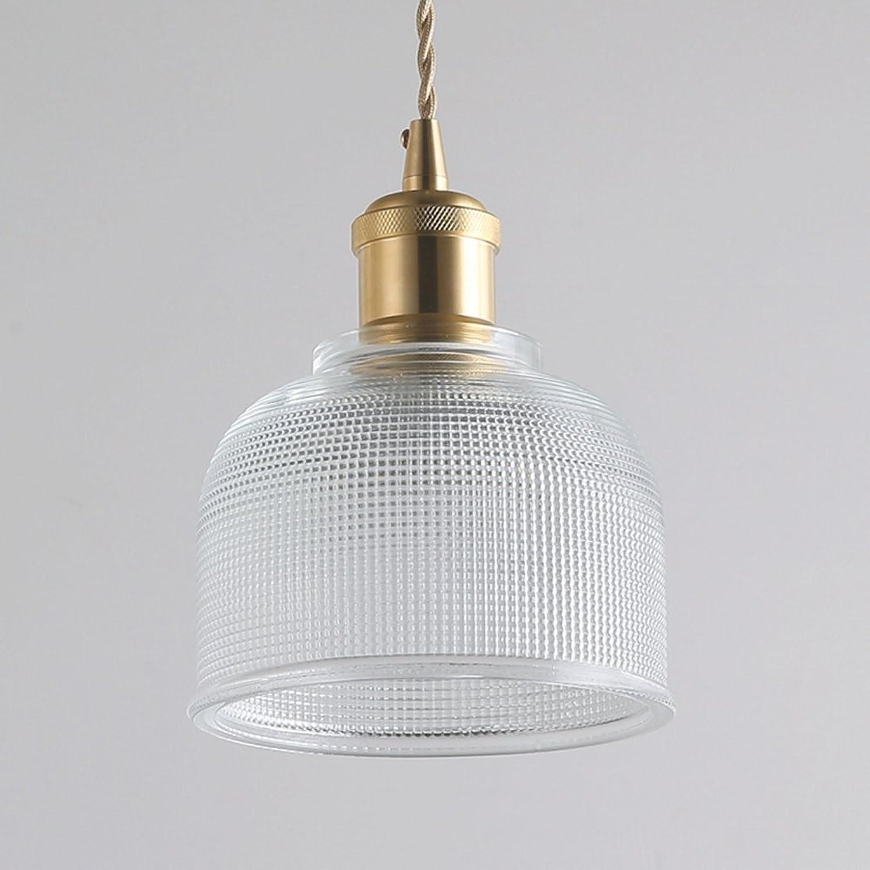 AOKARLIA Premium LED Pendelleuchte Beleuchtung, Glas Schlafzimmer Droplight Kreativ Hngeleuchten Wohnzimmer Lampe - E27,Clear