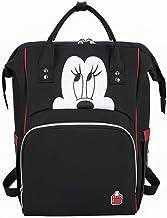 Craftsboys Bolsa de pañales Mochila Momia Maternidad/Bolsa de pañales Bolsa de Bebé Bebé Mickey Mouse Viaje Bolsa de Enfermería Bolsa de Cuidado del Bebé (B)