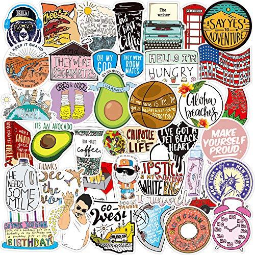 100pcs Fresh Vine Meme Stickers for Water Bottles Cute,Waterproof,Aesthetic,Trendy Flash Sweet Sticker for Teens,Girls Perfect for Waterbottle,Laptop,Phone,Travel Extra Durable Vinyl (New Vine Meme)