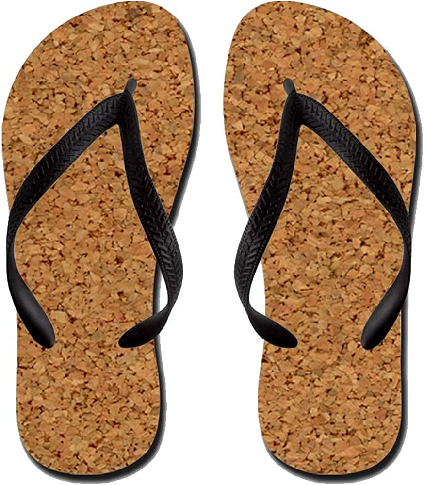 Cool Chic Cork Designer Flip Flops Casual Comfortable Summer Beach Sandal For Men Women Kid Non Slip Sandals
