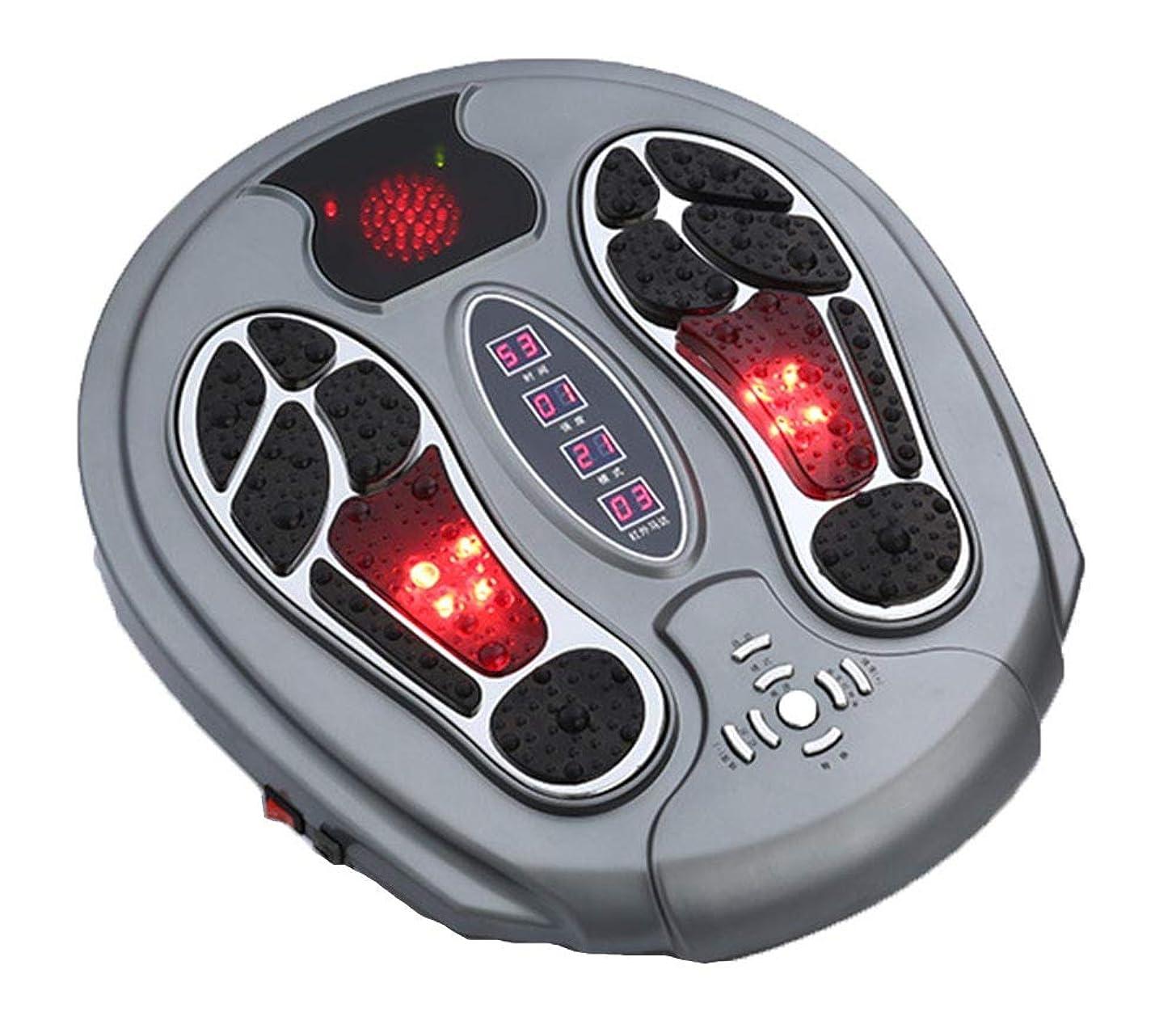 芸術的著者同性愛者調整可能Foot Massager Stimulator - Booster Circulation、身体を刺激する99の強度設定、赤外線機能付き リラックス