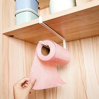 Kitchen Paper Hanger, Under Cabinet Paper Towel Holder Roll Paper Towel Rack,Tuscom