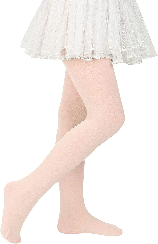 Girls Ballet Dance Tights for Toddler Baby Soft Athletic Leggings Infant Elastic Dance Tights for Girls