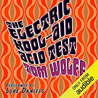 The Electric Kool-Aid Acid Test audiobook cover art