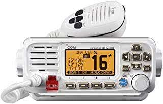 ICOM M330G 41 Icom VHF, Basic, Compact, with GPS, White