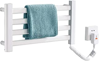 Flat Wall-Mounted Heated Towel Rack Space Aluminum Spray Paint, Central Heated Towel Heater Size 505 * 265 * 60mm/505 * 50...