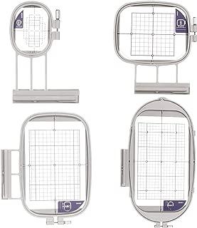 Set of 4 Embroidex Hoops for Brother/Babylock Embroidery Machine 4 Pc. Embroidery Hoop Set (SA437, SA438, SA439, SA441)) Duetta Quatro Dreammaker Dreamweaver innovis Luminaire Innov-ís XP
