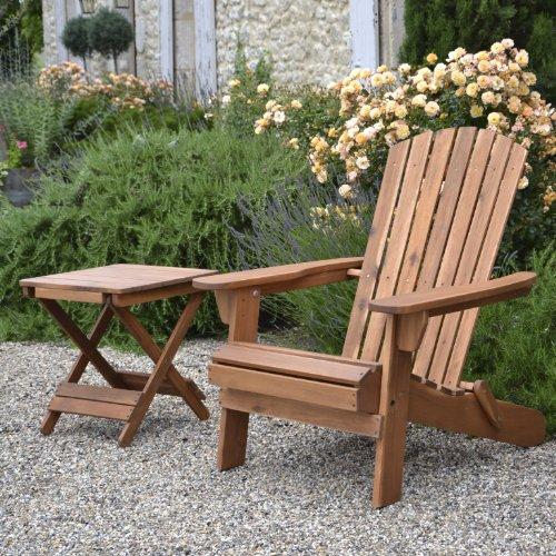 Plant Theatre Adirondack Folding Hardwood Chair