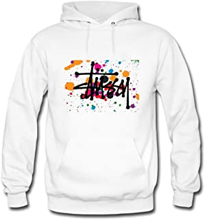 Stussy Customized Classic For womens Printed Sweatshirt Pullover Hoody