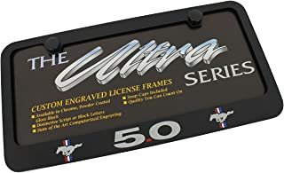 Best ford mustang license plate frame Reviews