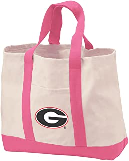 University of Georgia Tote Bags Natural Cotton University of Georgia Tote Bag