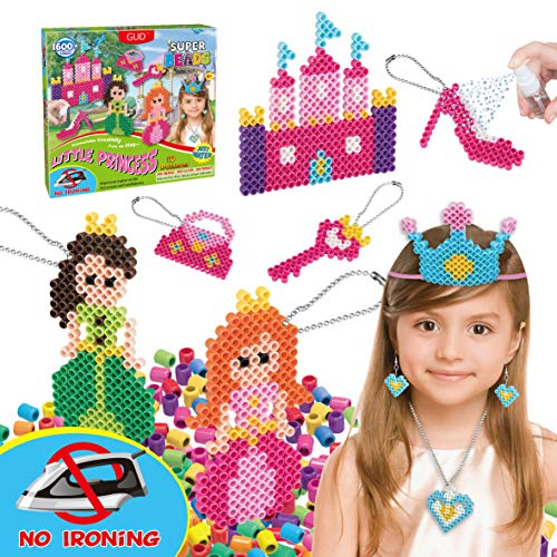 Kids DIY Water Fuse Non Iron Super Beads Girls Arts and Crafts Toy Set. Girls...
