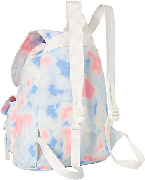 Tie-Dye Print/Blanc De Blanc