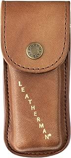 LEATHERMAN - Heritage Leather Snap Sheath for Multitools, Medium (Fits Wave, Charge, and Skeletool)