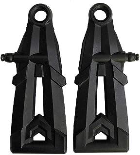 CHENJUAN for XLH 9130 9136 9137 2Pcs Front Lower Arm SJ09 Spare Parts car Accessories (Color : Black)