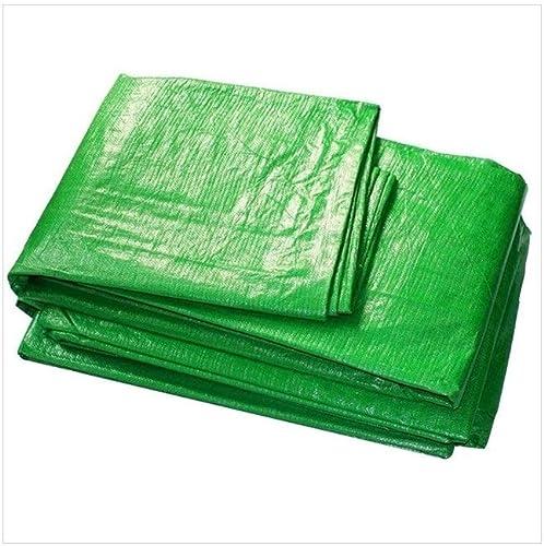 SGMYMX Bache Bache capitonnée, bache de Prougeection Solaire imperméable à l'eau, bache d'abri de Camion visière extérieure antipoussière et Coupe-Vent Bache imperméable (Couleur   vert, Taille   5x7M)