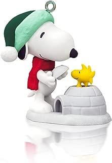 Winter Fun With Snoopy 17th In Series - 2014 Hallmark Keepsake Miniature Ornament