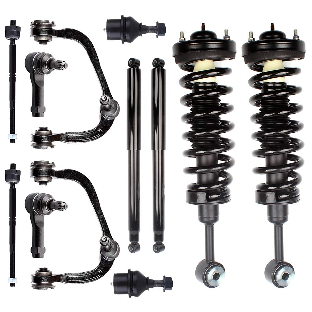 Front Pair Shocks Struts Absorber Fits 2003-2009 Ford F-150 RWD