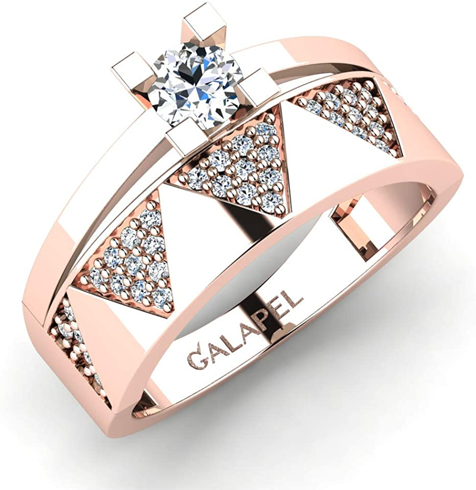 Galapel Outlet ☆ Free Shipping Jolie Max 69% OFF Personalized Ring Stacking Wedding Women for