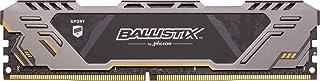 Crucial Ballistix Sport AT BLS8G4D30CESTK, 3000 MHz, DDR4, DRAM, Memoria Gamer para ordenadores de sobremesa, 8 GB, CL17