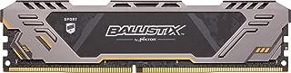 Crucial Ballistix Sport at 3000 MHz DDR4 DRAM Desktop Gaming Memory Single 16GB CL17 BLS16G4D30CEST
