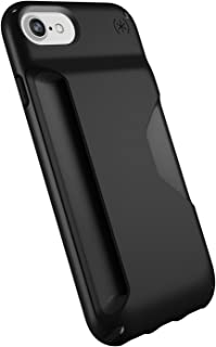 Speck Products Presidio Wallet Case for iPhone 8 (Also Fits 7/6S/6), Black/Black (Renewed)