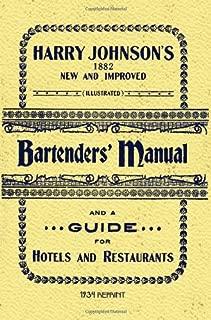 Best harry johnson bartender manual Reviews