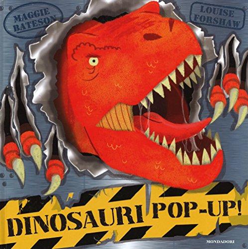 Dinosauri pop-up! Con adesivi. Ediz. illustrata