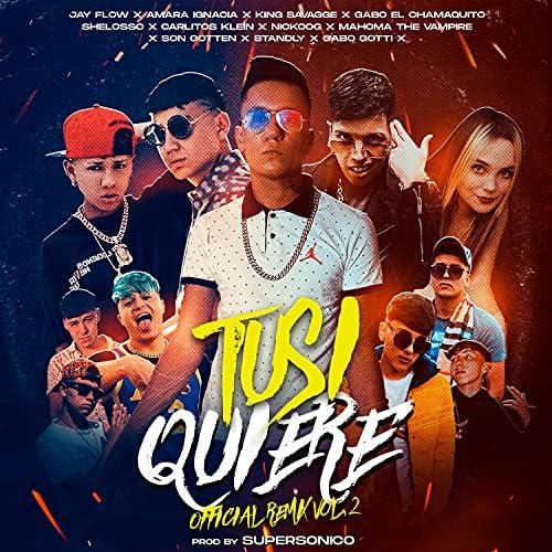 Jay Flow Music feat. Amara Ignacia, King Savagge, Shelo, Nickoog Clk, Standly, Carlitos Klein & Gabo El Chamaquito