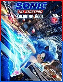 Sonic Hedgehog Coloring Book