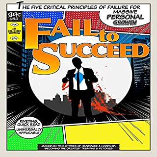 Fail to Succeed audiobook cover art